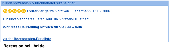 Rezension bei libri.de
